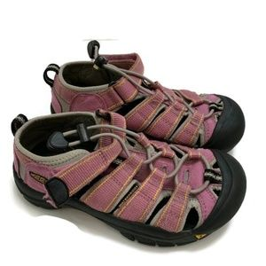 Girls Keen Waterproof Shoes Pink Drawstring Sandal
